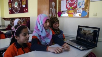 egitim merkezi - Suriyeli çocuklar AA'nın 'Yılın Fotoğrafları' oylamasına katıldı - İSTANBUL Videosu