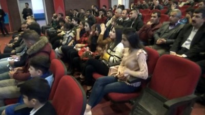 sinema salonu -  Sinema salonu olmayan Silopi'de film galası