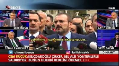 cem kucuk - Cem Küçük: Kılıçdaroğlu bedelini ödemek zorunda
