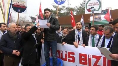 birlesmis milletler -  Erciş'te 'Kudüs' yürüyüşü