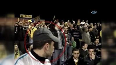 kahvehane -  Öldürülen tribün liderlerinin maç sırasındaki görüntüleri