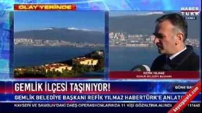 Habertürk canlı yayınında NTV mikrofonu