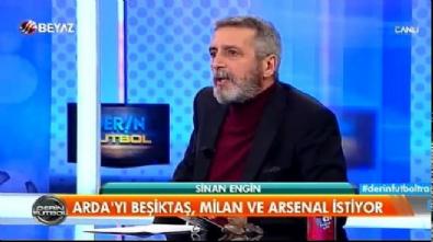 barcelona - Sinan Engin: Beşiktaş Arda Turan'ı istiyor