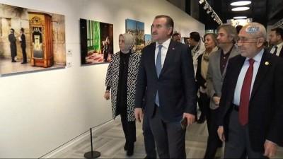 birlesmis milletler -  Bakan Osman Aşkın Bak, 'Kudüs: Ey Hüzünler Şehri' isimli sergiyi ziyaret etti