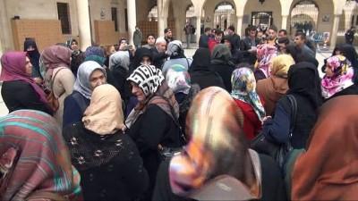 birlesmis milletler -  Şanlıurfalı kadınlar Kudüs'e sahip çıktı