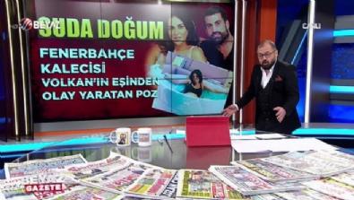 Fenerbahçe kalecisi Volkan'ın eşinden olay poz