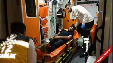 Samsun'da 'sevgilime baktın' kavgası: 1 yaralı