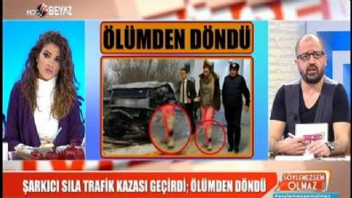 sila gencoglu - Şarkıcı Sıla trafik kazası geçirdi; ölümden döndü