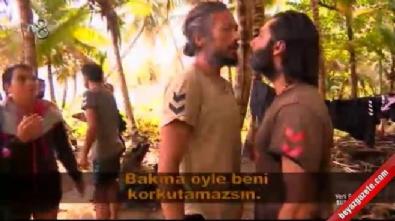 Survivor 2017 - İlhan Mansız, Çılgın Sedat ve Fatih'le kavga etti!