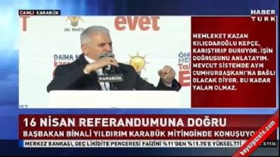 Başbakan Yıldırım'dan Ahmet Necdet Sezer göndermesi