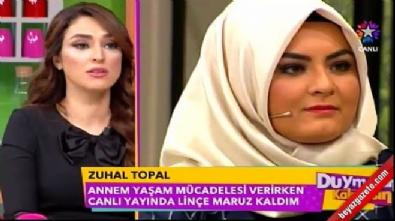 Zuhal Topal isyan etti