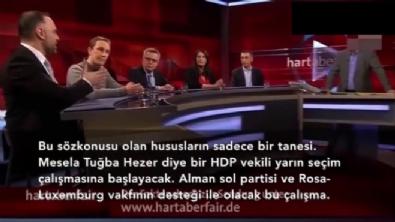 Alman TV kanalında Türkiye düşmanı Cem Özdemir'i rezil eden Türk