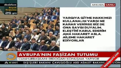 Cumhurbaşkanı Erdoğan: Karşımıza maskeyle çıkanlara haydut muamelesi yapacağız