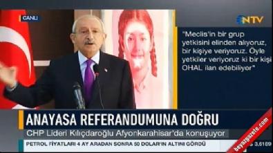 Kılıçdaroğlu Afyonkarahisar'da konuştu