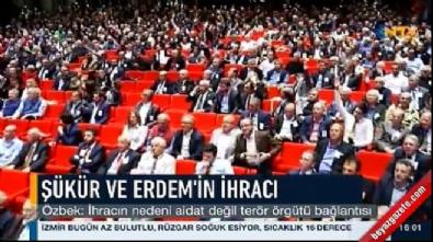 Dursun Özbek: Aidattan değil terör örgütünden atıldılar