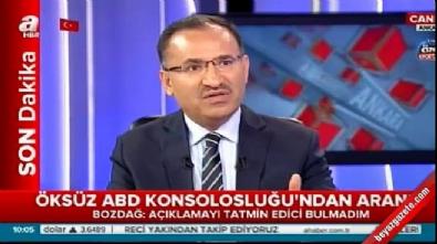 adil oksuz - Adalet Bakanı Bozdağ'dan Adil Öksüz açıklaması