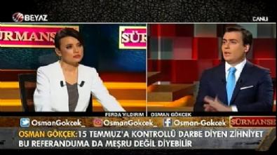 Osman Gökçek: Vatandaşın oyuna niye saygı duymuyorsunuz?