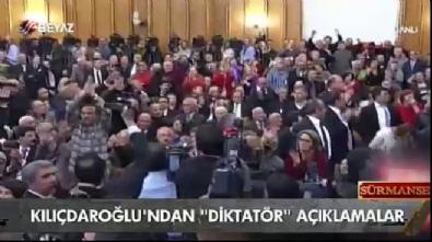 Kılıçdaroğlu'nun partilileri azarladığı görüntüler