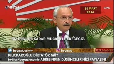 Kılıçdaroğlu'nun seçim yenilgilerinden sonra konuşmları