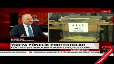 CHP'li Levent Gök'ten skandal sözler