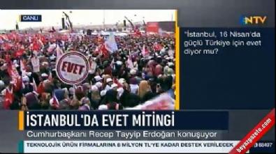 Erdoğan: Benim milletim F-16'lardan helikopterlerden kaçmadı