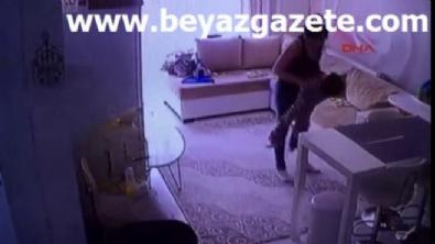Çocuğa işkence yapan Ukraynalı bakıcının dehşet görüntüleri!