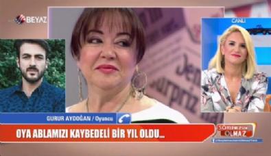 ''Söylemezsem Olmaz'da'' duygu dolu anlar! Oya Aydoğan vefatının birinci yılında özlemle anıldı...