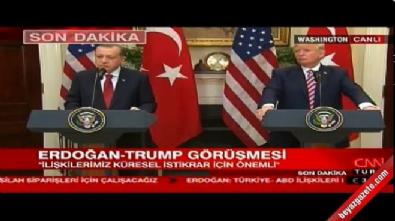 Cumhurbaşkanı Erdoğan: YPG'nin muhatap alınması uygun değildir