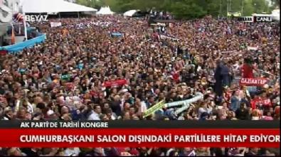 Cumhurbaşkanı Erdoğan: 998 gün sonra yine beraberiz