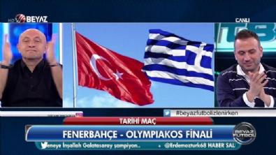 Önce İzmir Marşı ardından zeybek...Başarılar Fenerbahçe
