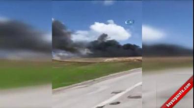 PKK'lı teröristler araçları yakıp kaçtı