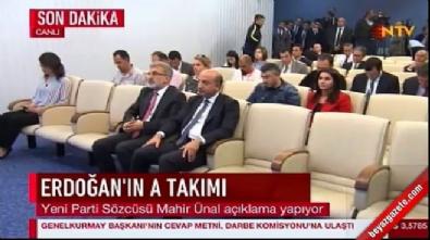 İşte AK Parti'nin yeni MYK üyeleri