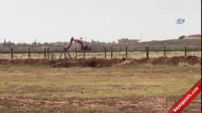 Kepçeler mevzi kazarken F-16'lar ise sınır hattında uçtu