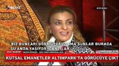 Kabe kapıları Ankara Altınpark'ta sergileniyor