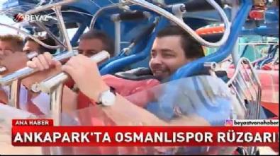 Osmanlısporlu futbolcular Ankapark'ta doyasıya eğlendi