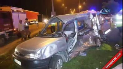 Samsun'da trafik kazası: 5 ölü, 3 yaralı