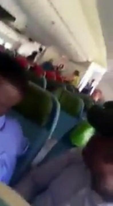 İngiliz yolcu THY uçağında Afgan'a saldırdı