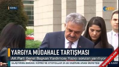 Hayati Yazıcı'dan CHP'nin 'yargıya müdahale' iddiasına yanıt