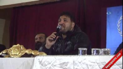 Kılıçdaroğlu'nun yürüyüşüne destek veren Kırkpınar başpehlivanı, dopingli çıktığı için unvanı geri alınmış