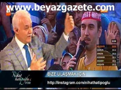 Korcan Cinemre canlı yayında Nihat Hatipoğlu'nu trolledi