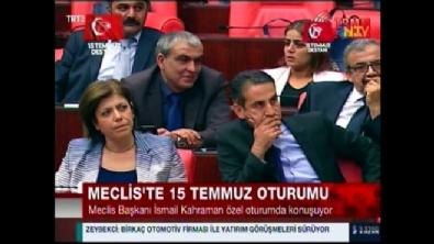 ahmet yildirim - Meclis Başkanı Kahraman'dan HDP'li Yıldırım'a sert çıkış