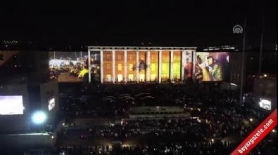 TBMM'de anma töreni - Özel video gösterimi