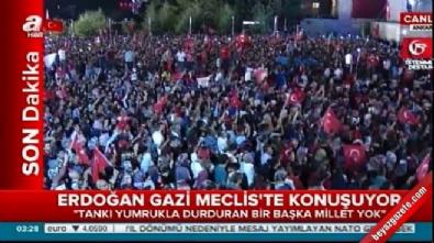 15 temmuz darbesi - TBMM'de Cumhurbaşkanı Erdoğan'ın konuşması #15Temmuz