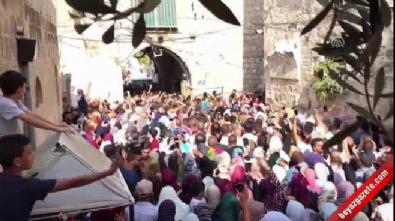 mescid i aksa - On binlerce kişi Mescid-i Aksa'da