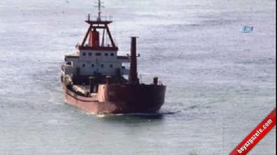 Ege Denizi'nde Türk bayraklı yük gemisine ateş açıldı!