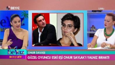 Güzel oyuncu eski eşi Onur Saylak'ı yalnız bıraktı
