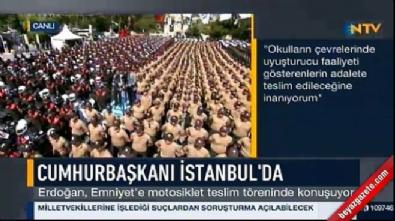 Cumhurbaşkanı Erdoğan, İstanbul Emniyeti'nin yeni yerini açıkladı