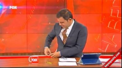 fox tv - Fatih Portakal'ın canlı yayında telefonu çaldı!