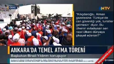 Başbakan Yıldırım'dan Kılıçdaroğlu'na kepazeliğe son ver çağrısı