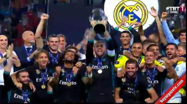 manchester united - Süper Kupa Real Madrid'in
